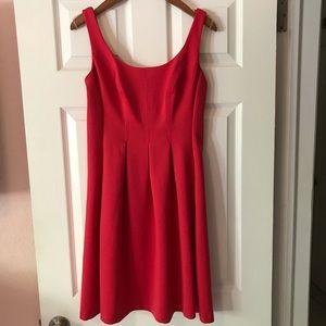 Nine West women's dress red 4